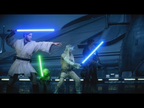 OBI-WAN KENOBI IS SO GOOD! - Battlefront 2 (HvV Gameplay) thumbnail