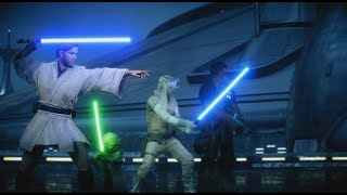 OBI-WAN KENOBI IS SO GOOD! - Battlefront 2 (HvV Gameplay)
