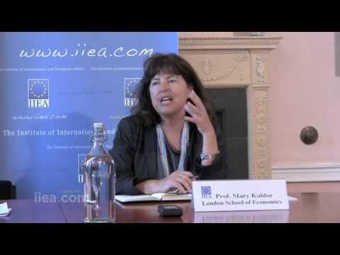 Prof. Mary Kaldor on Subterranean Politics in Europe