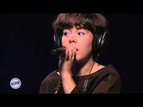 """Purity Ring performing """"Bodyache"""" Live on KCRW"""