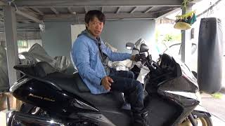 HONDAシルバーウィング600前期最終(2008)参考動画