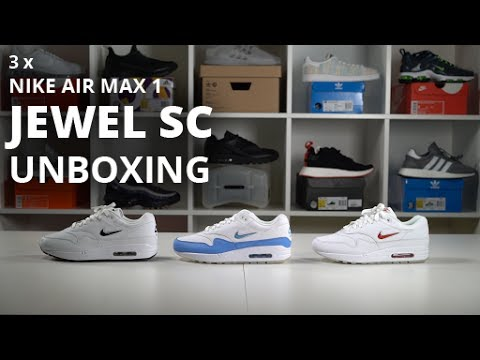 EARLY UNBOXING Air Max 1 Jewel SC University Blue. The Sole Supplier 06143048a0bd