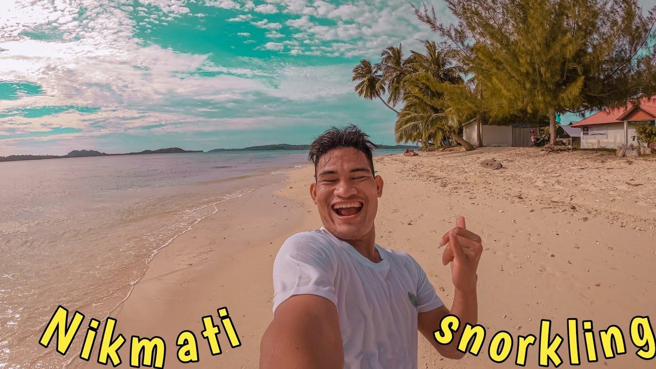 Menikmati Pesona Bawah Laut, Snorkling Pantai Jati Dimentawai.