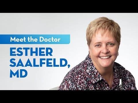 Meet Dr. Esther Saalfeld — Primary Care Physician At St. Elizabeth