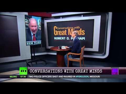 Conversations w/Great Minds P1 - Prof Robert D. Putnam - The Opportunity Gap Explained