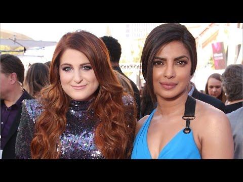 Priyanka Chopra Has A 'Woman Crush' On Meghan Trainor