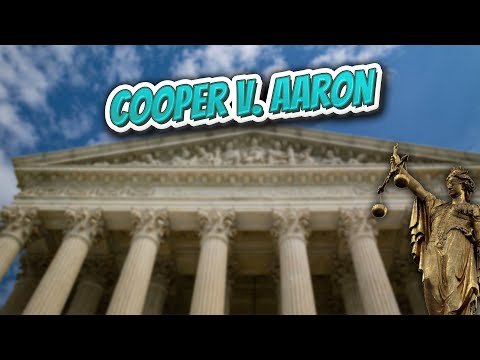 Cooper v  Aaron (Landmark Court Decisions in America)💬🏛️✅
