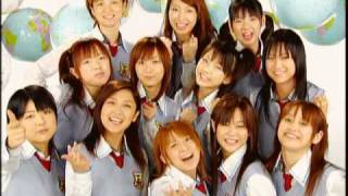 """In 2004 there was only one Shuffle Unit. The """"Hello!Project All Sta..."""