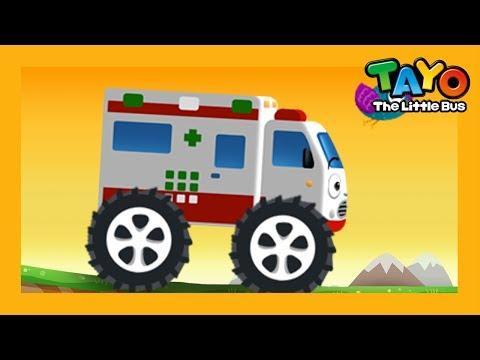 Alice xe cứu thương l Trò chơi sửa chữa bảo dưỡng xe #6 l Tayo xe bus nhỏ