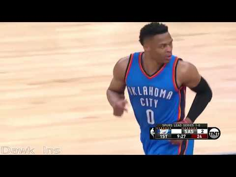 Russell Westbrook Eurostep Highlights