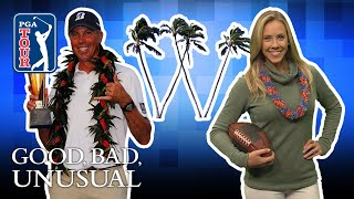 Waialae walk-offs, Kuchar's second victory & football jerseys