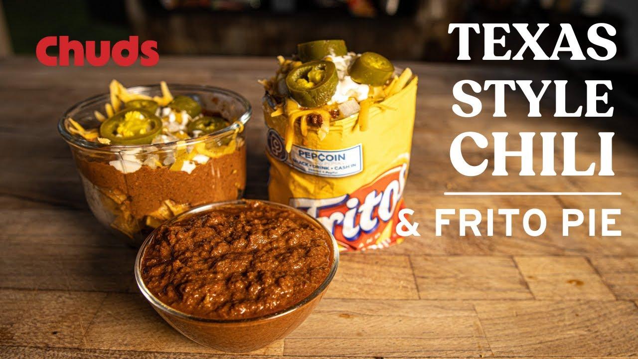 Texas Beef Chili Chuds Bbq Youtube