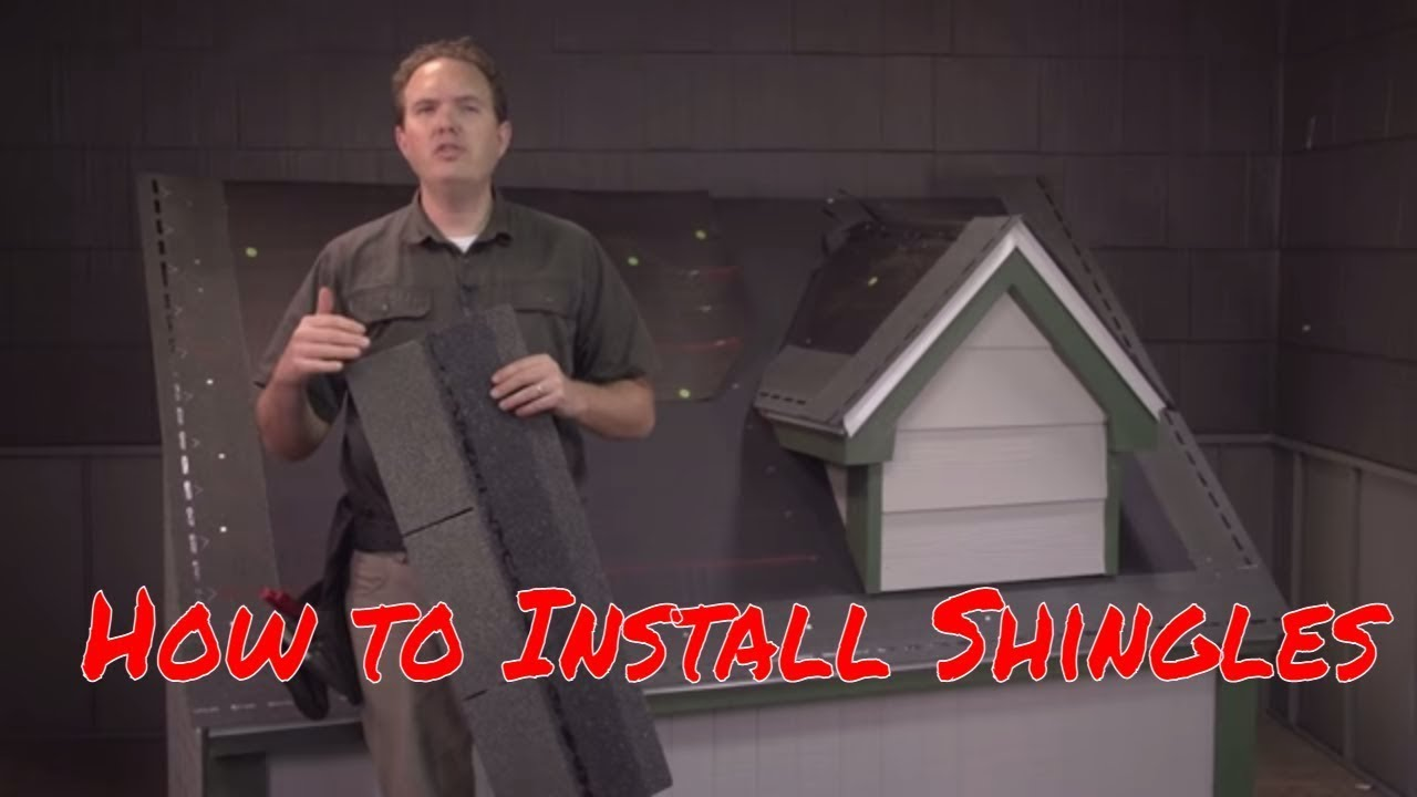 How to Install Asphalt Shingles by RoofingIntelligencecom