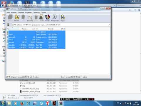 Как установить игру с iso файла