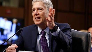 'I'll criticise judges': Trump defiant after Gorsuch rebuke
