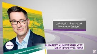 Budapesti klímavészhelyzet: majd lesz egy új erdő