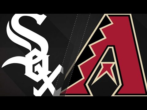 5/24/17: D-backs use six-run 5th to sweep White Sox