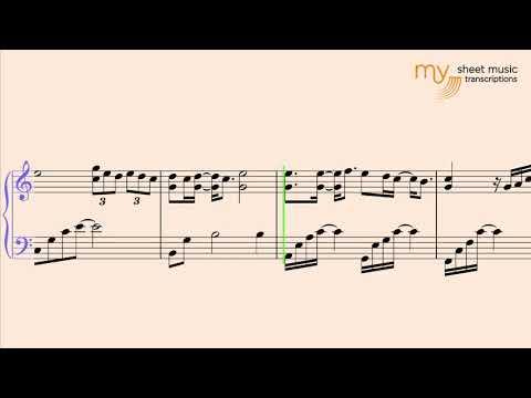Marry Me (Train) . Piano sheet music tutorial