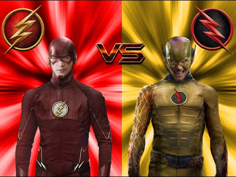 The Flash vs The Reverse-Flash ALL FIGHT (season 1)!