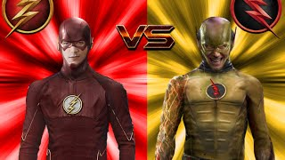 The Flash vs The Reverse-Flash ALL FIGHT!