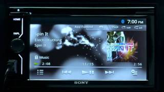 SONY MirrorLink 2 DIN AVC headunit XAV601BT/701HD Promo Video Android/iPhone