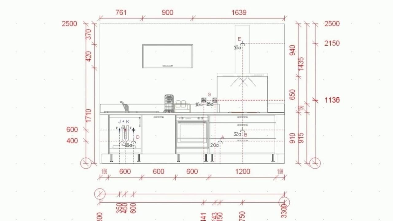 hauteur meuble cuisine ikea