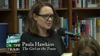 "Paula Hawkins, ""The Girl on the Train"""