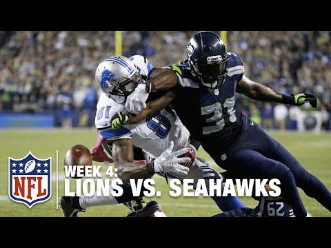Kam Chancellor Forces Calvin Johnson Fumble, Seals Victory   Lions vs. Seahawks   NFL