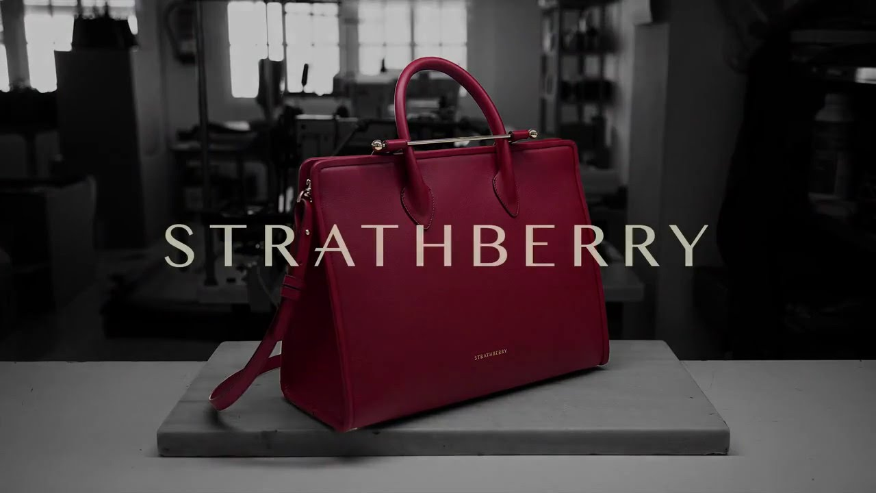 b8f6a2cb5c Strathberry Craftsmanship - Making of The Strathberry Tote - YouTube