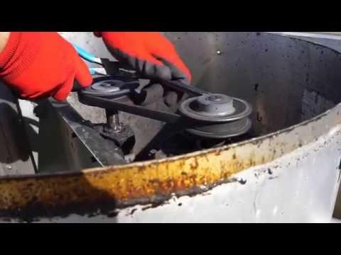 Exhaust Belt Replacement Youtube