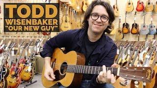 """Our New Guy"" Todd Wisenbaker   Original 1943 Martin 00-18 at Norman's Rare Guitars"