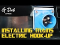 Installing Mains Electric Hook-Up - Self built DIY VW T5 camper conversion