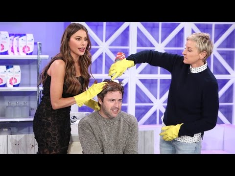 Andy Gets a Hair Makeover from Ellen and Sofía Vergara!