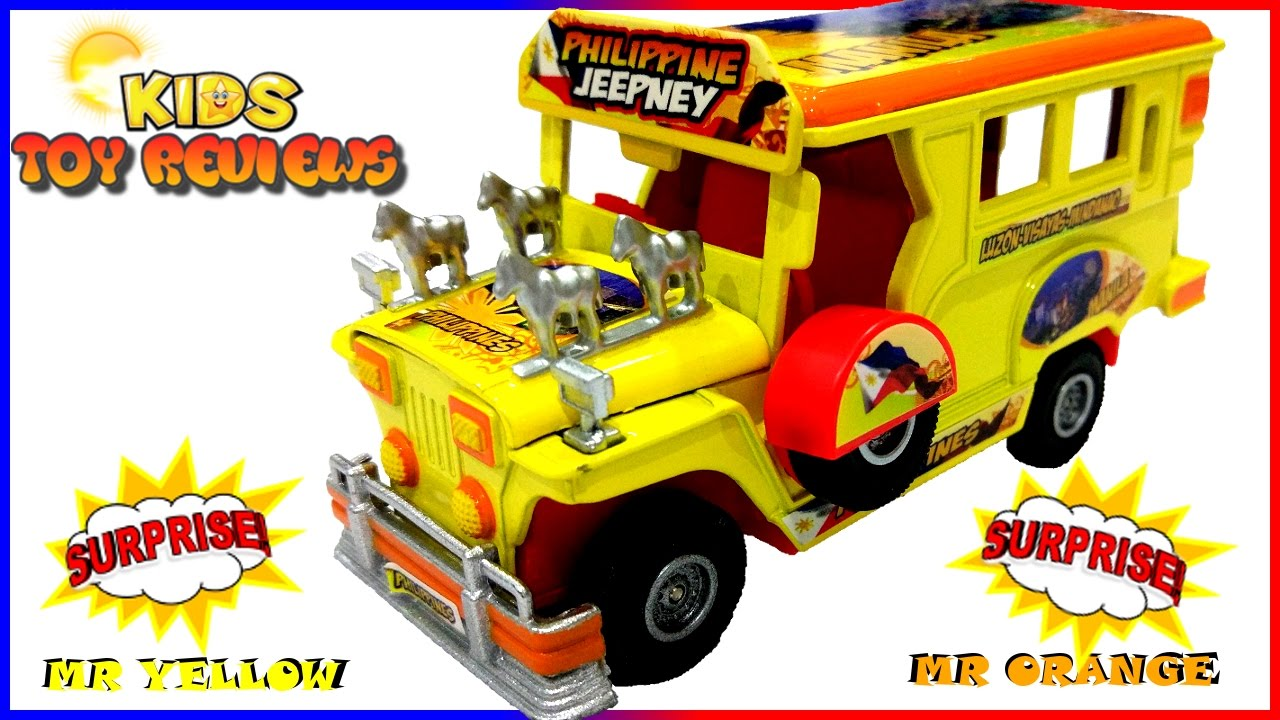 Kid S Toy Car Philippine Jeepney Unboxing Playtime