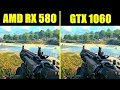 Call Of Duty  Black Ops 4 GTX 1060 Vs AMD RX 580 Frame Rate Comparison