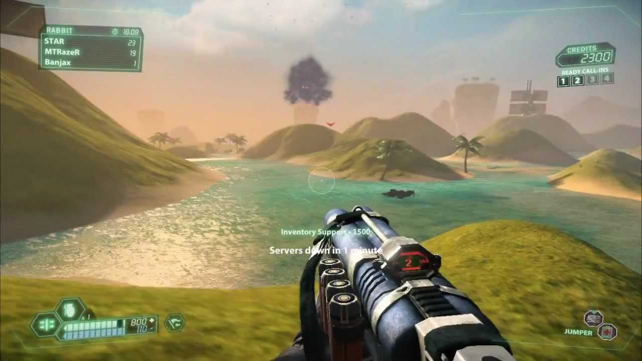 Tribes Ascend: Basics and Introduction [ALPHA FOOTAGE] - If you want to play this game, sign up now with this link!