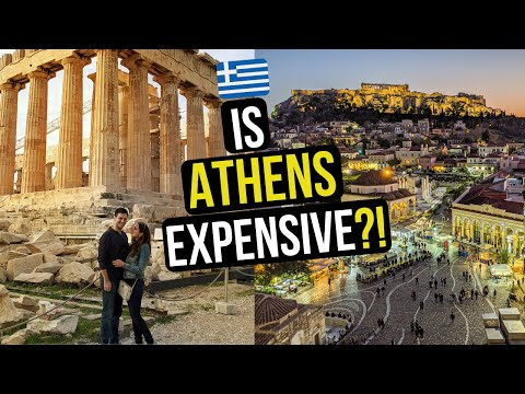 WHAT to SEE in ATHENS GREECE in 2 DAYS - Is ATHENS AFFORDABLE? | TÜRKÇE ALTYAZILI