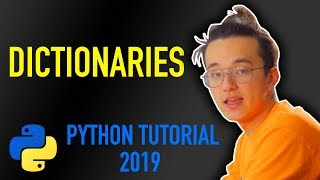 15 - how to use dictionaries in Python (Python tutorial for beginners 2019)