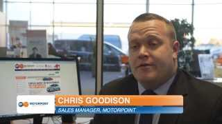 Chris Goodison, Sales Manager, Motorpoint