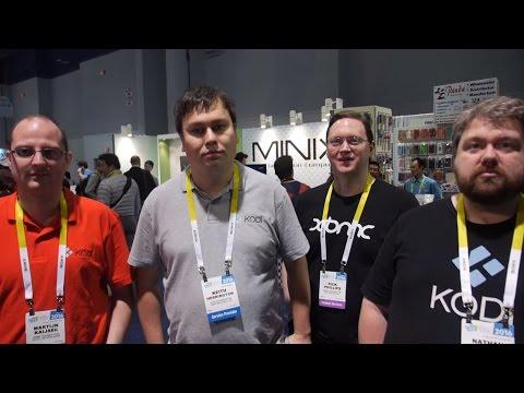 Kodi Team Interview at CES 2016