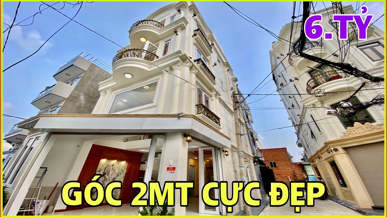 Bán nhà Gò Vấp | Nhà 4.5m Góc 2MT hẻm thoáng mát tặng nội thất Thống Nhất Gò Vấp