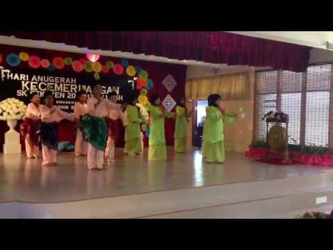 Joget Lodeh Mak Lodeh by year 5 students of SK Seksyen 20