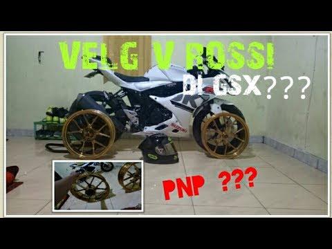 UNBOXING  VELG V ROSSI UNTUK GSX R 150, APAKAH PNP ???...