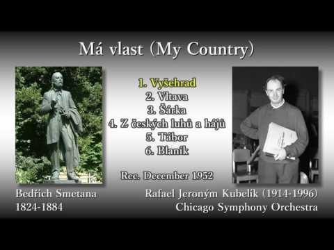 Smetana: Má vlast (My Country), Kubelík & CSO (1952) スメタナ「わが祖国」クーベリック