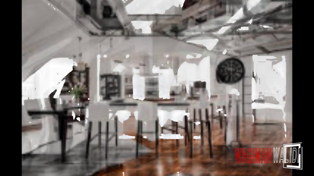 Dachwohnung Interieur Penthouse - YouTube