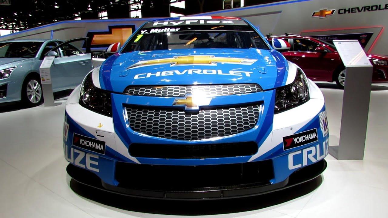 2012 Chevrolet Cruze WTCC Race Car - Exterior - 2012 Paris Auto Show ...