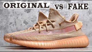 Adidas Yeezy Boost 350 V2 Static Clay Original & Fake