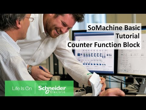 How To Configure The Counter Function Block In SoMachine Basic? | Schneider Electric