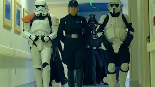 'Star Wars' characters visit kids in hospital: 'Bad guys doing good'