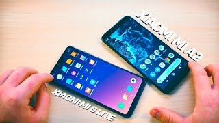 Xiaomi Mi 8 Lite Vs Xiaomi Mi A2   КТО КРУЧЕ